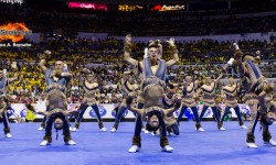 National University Pep Squad seeks a third straight cheerdance crown #UAAP78