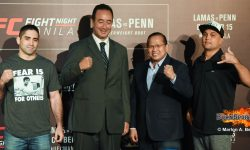 UFC MANILA POSTPONED AFTER B.J. PENN'S WITHDRAWAL DUE TO INJURY