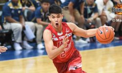 UE holds off late NU rally to open second round