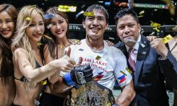 FILIPINO EDUARD FOLAYANG IS THE NEW ONE LIGHTWEIGHT WORLD CHAMPION