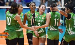 LA SALLE OVERCOMES UST, BOOKS  NINTH STRAIGHT FINALS
