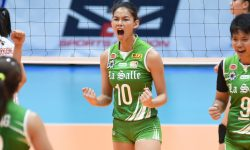 MAJOY BARON NAMED UAAP '79 WOMEN'S VOLLEYBALL MVP