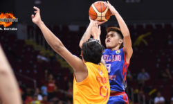 Arellano wins over San Sebastian for share of fifth place