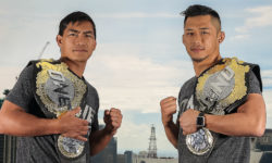ONE World Champions Eduard Folayang and Martin Nguyen face off in Manila