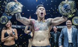 Nguyen's signature right hand stuns Folayang to become ONE's first two-division champion