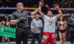 Eustaquio gets revenge over Akhmetov, captures ONE interim flyweight title