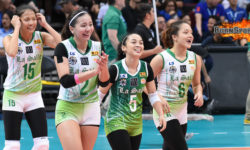 Peaking La Salle squad sweeps UP en route to solo first