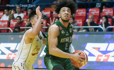 Hot-shooting St. Benilde downs Perpetual for third spot