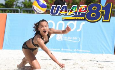 UAAP Season 81 Beach Volleyball to kick off on Sep 24
