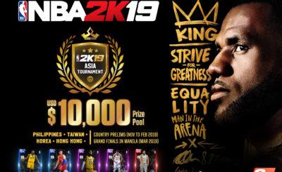 NBA 2K's Asia tournament returns with NBA 2K19