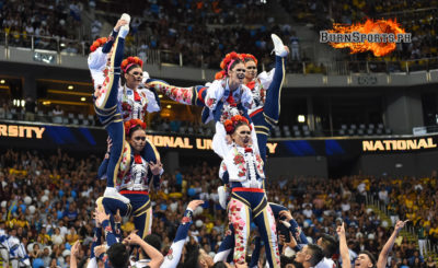 National U regains UAAP cheerdance title