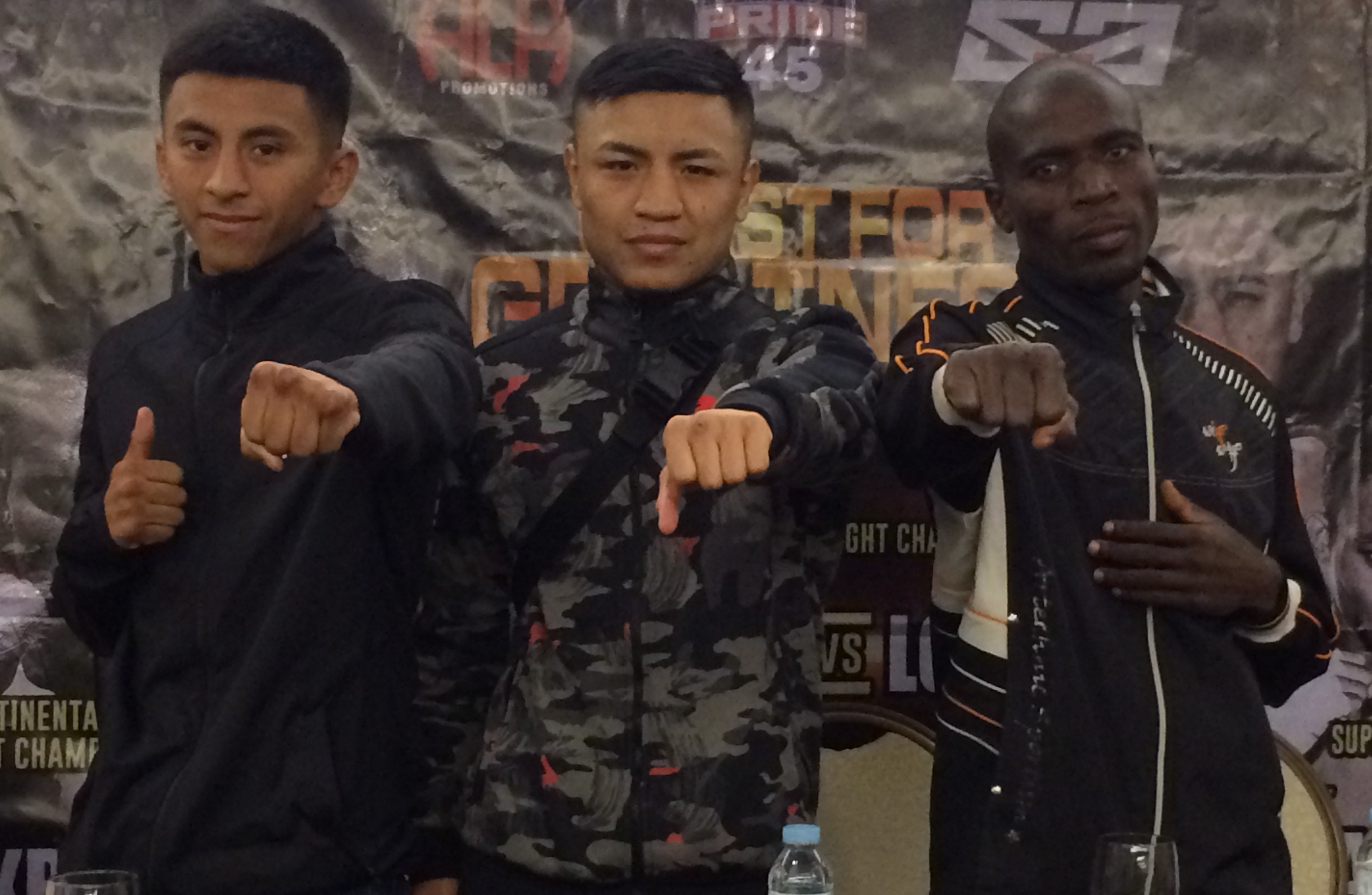 Mexican fighters raring to go versus ALA boxers in Pinoy Pride 45