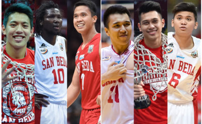 San Beda's Starting Five of the 2000s