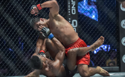 Folayang dominates Khan to become new lightweight champ
