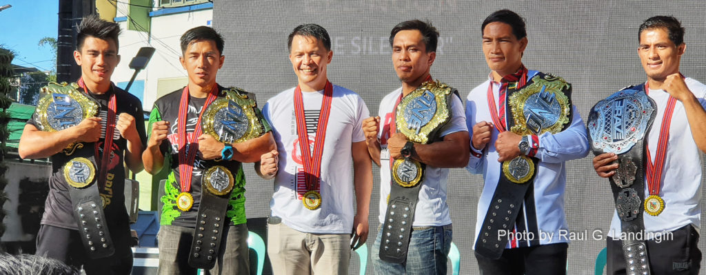 Baguio honors Team Lakay with Parade of Champions
