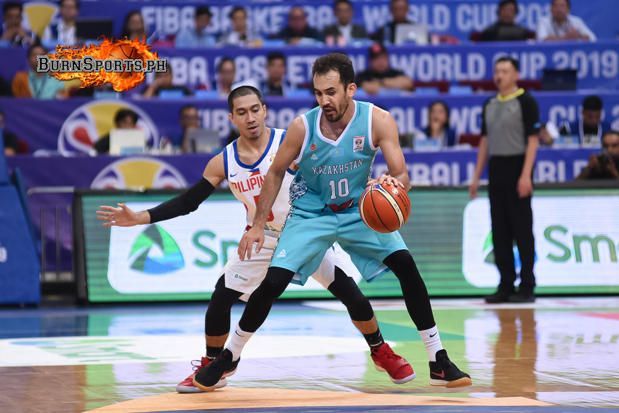 Kazakhstan upsets Gilas in FIBA World Cup qualifier