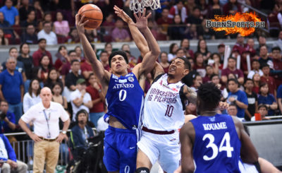 Ateneo survives gritty UP to win Game 1 of UAAP Finals
