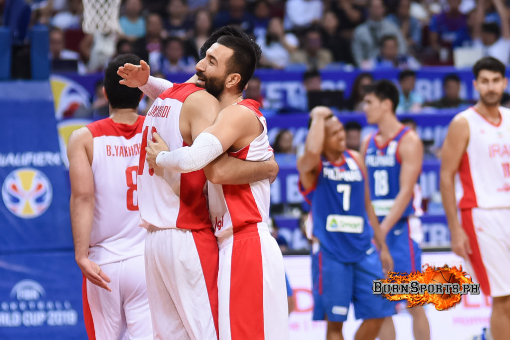 PHOTOS: Philippines collapses, falls to Iran anew