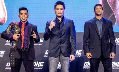 Geje Eustaquio, Adriano Moraes ready for their trilogy fight