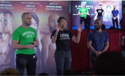 ONE MMA fighters hold open seminar and meet and greet in Tokyo