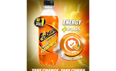 Cobra Energy drink launches Vitamin C variant