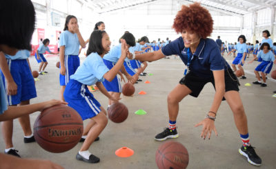 Jr. NBA PH conducts clinic for more than 3,000 kids in Cavite