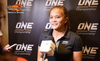 Gina Iniong vows to be more aggressive in Bangkok