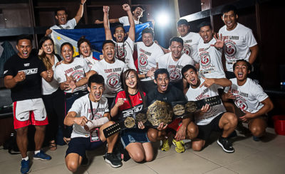 Filipino MMA fighters victorious in home turf at Brave 22