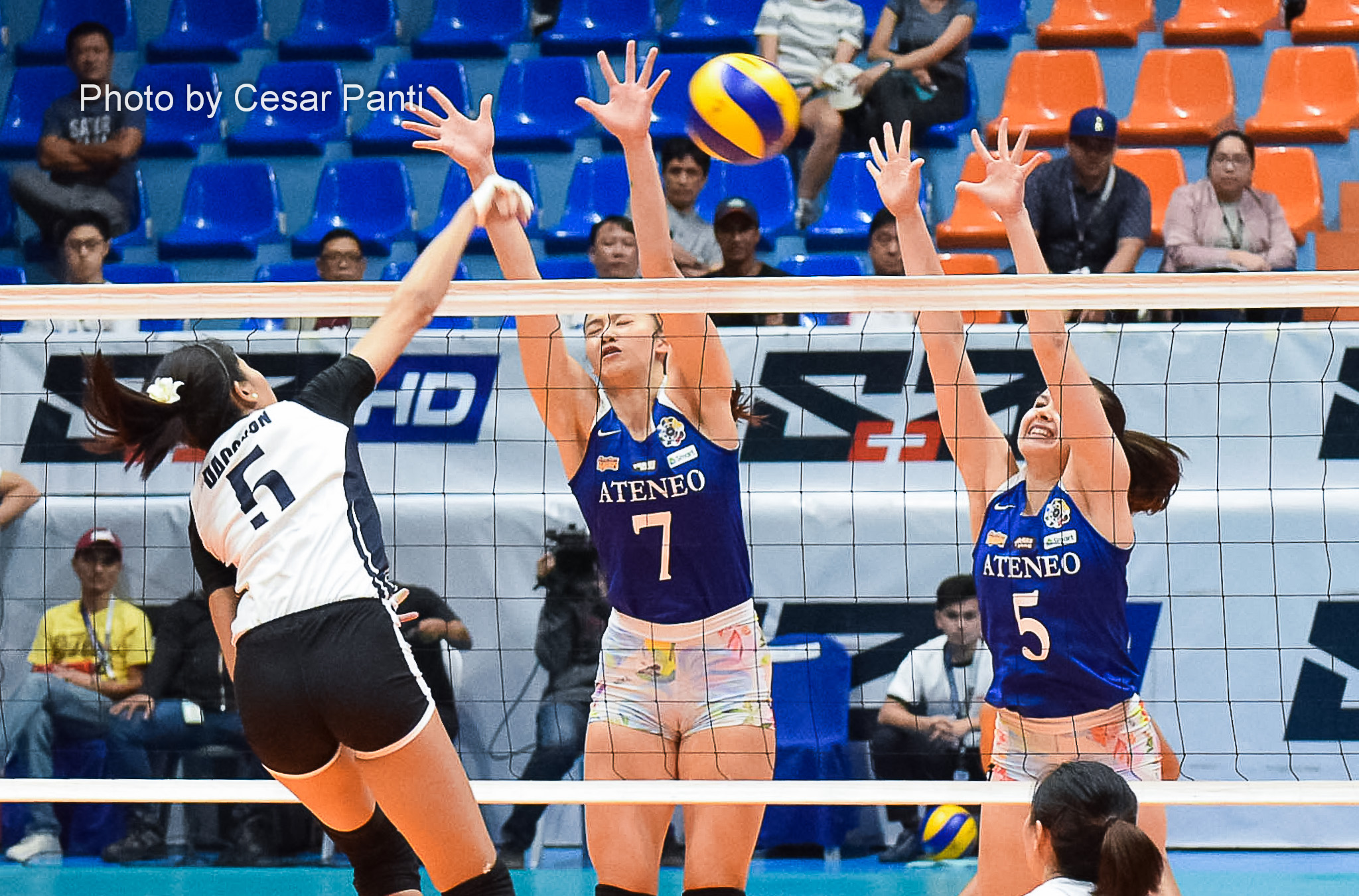 Ateneo reasserts mastery over Adamson, keeps solo lead