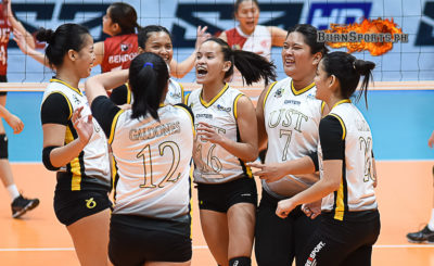 UST concludes first round with dominant victory over UE