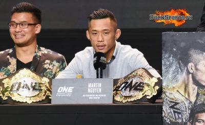 Martin Nguyen vs. Jadambaa added to ONE Manila Card