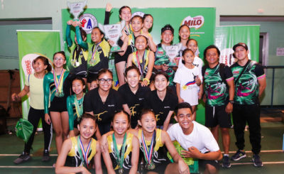 Female athletes showcase their strengths in two Milo events