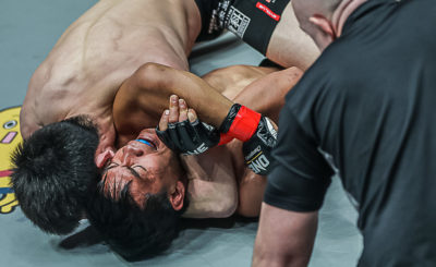 Eduard Folayang suffers shock first-round loss to Aoki
