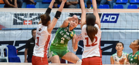 La Salle sweeps UE, clinches Final Four advantage playoff
