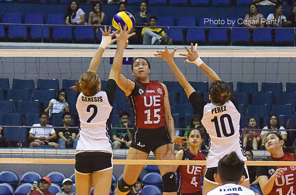UE Lady Warriors notch third win with sweep of Adamson