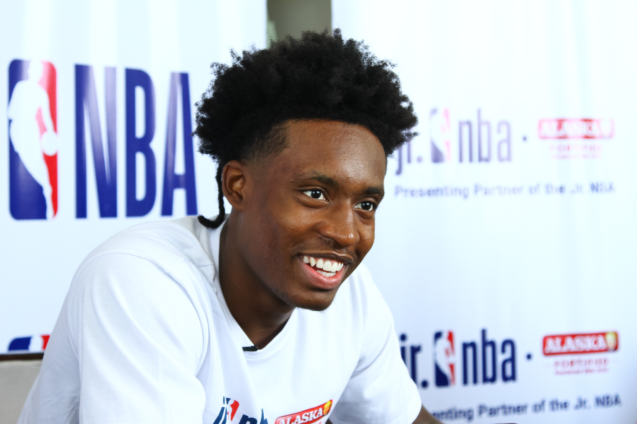 Collin Sexton on the Jr. NBA program: 'This can make a big difference in someone's life'
