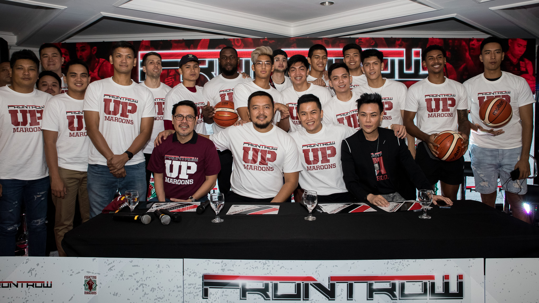 UP Fighting Maroons sign partnership with Frontrow
