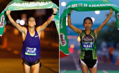 Nerza, Hallasgo brushed aside roadblocks to rule Milo Marathon MNL leg