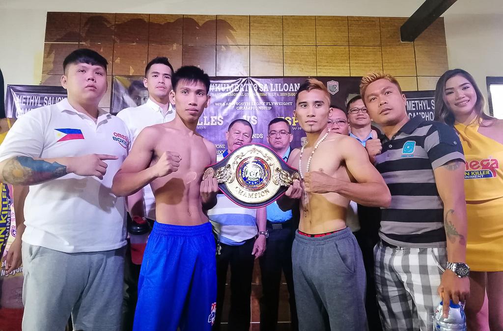 Unbeaten pug, veteran fighter clash for vacant WBA Asia belt