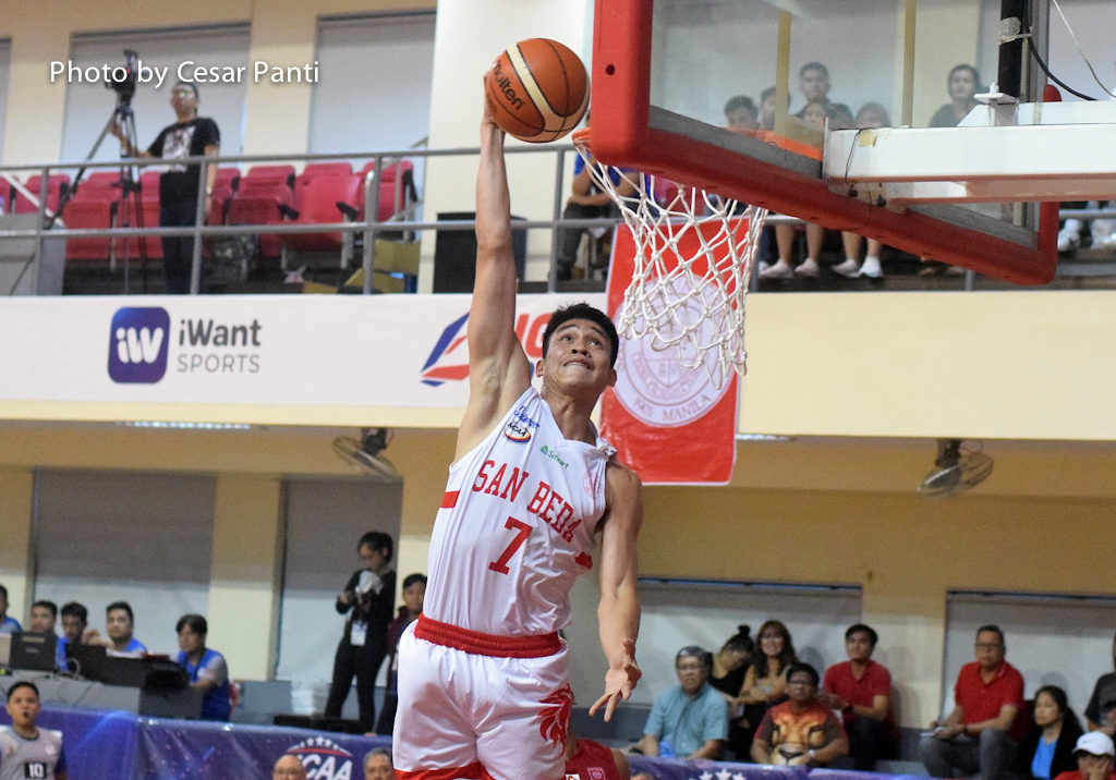 James Canlas shows way as San Beda routs EAC