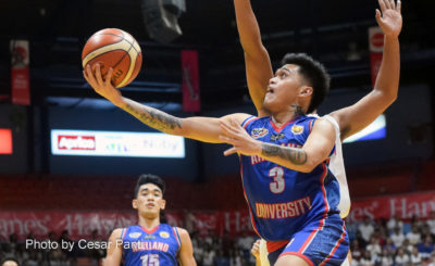 Kent Salado powers Arellano past EAC for first win