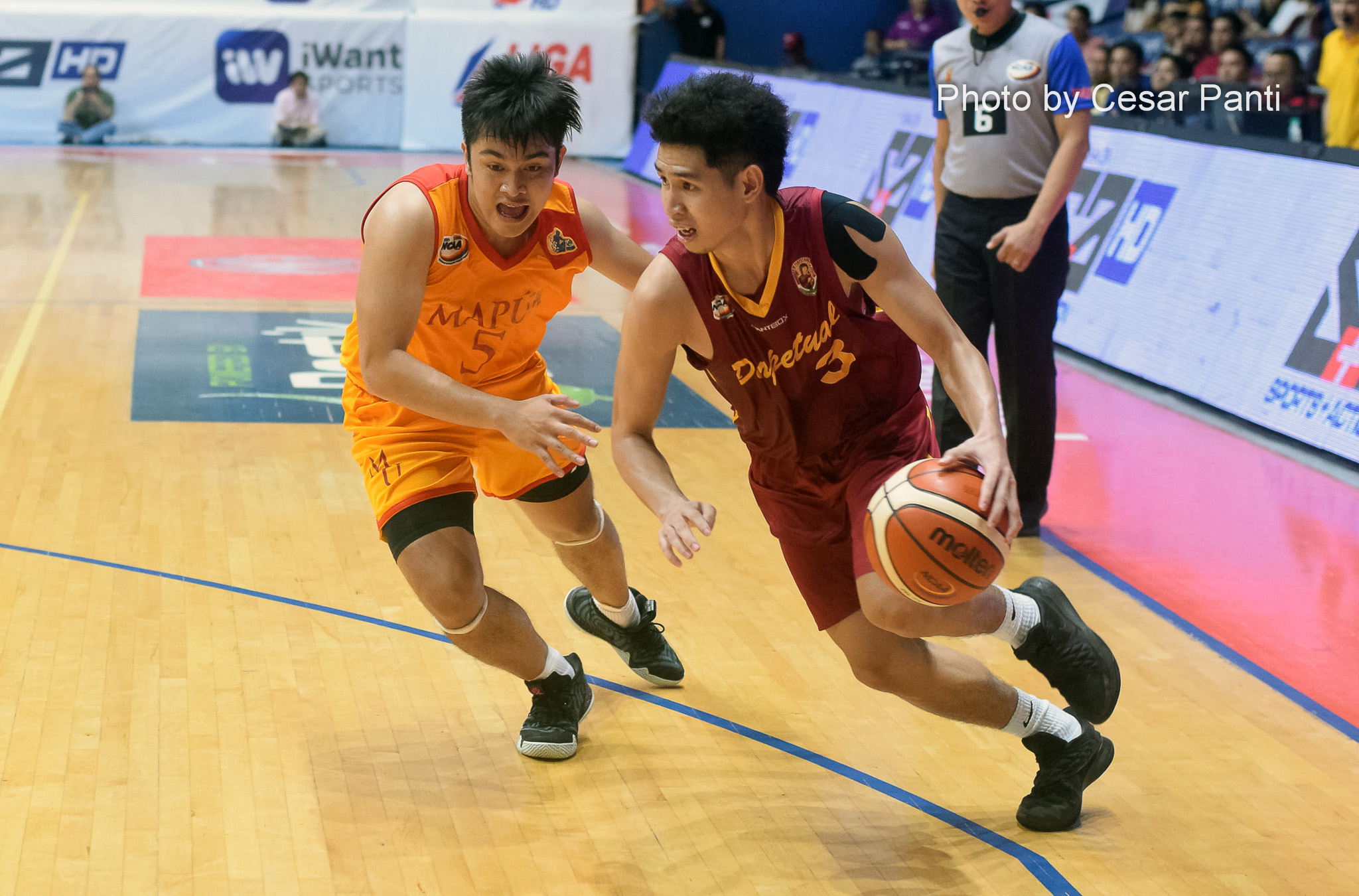 Edgar Charcos steps up as Perpetual Help beats Mapua