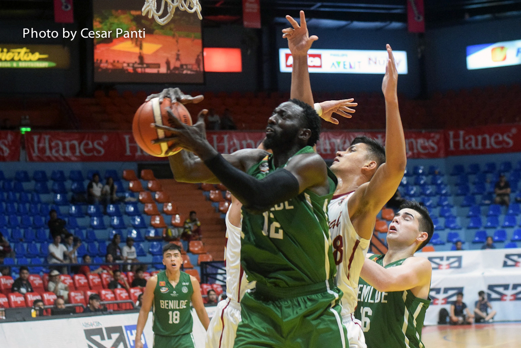 St. Benilde off to 2-0 start after come from behind win over Perpetual