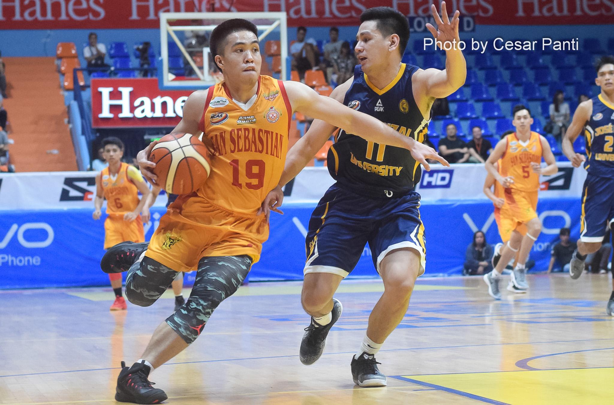 RK Ilagan leads San Sebastian in debut win against JRU