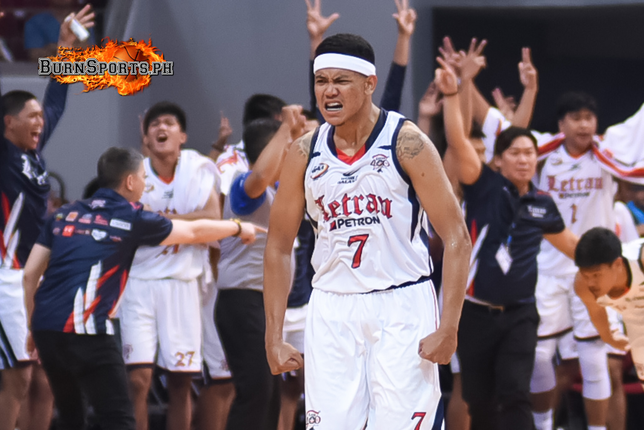 Jerrick Balanza lifts Letran to 1st win with career performance