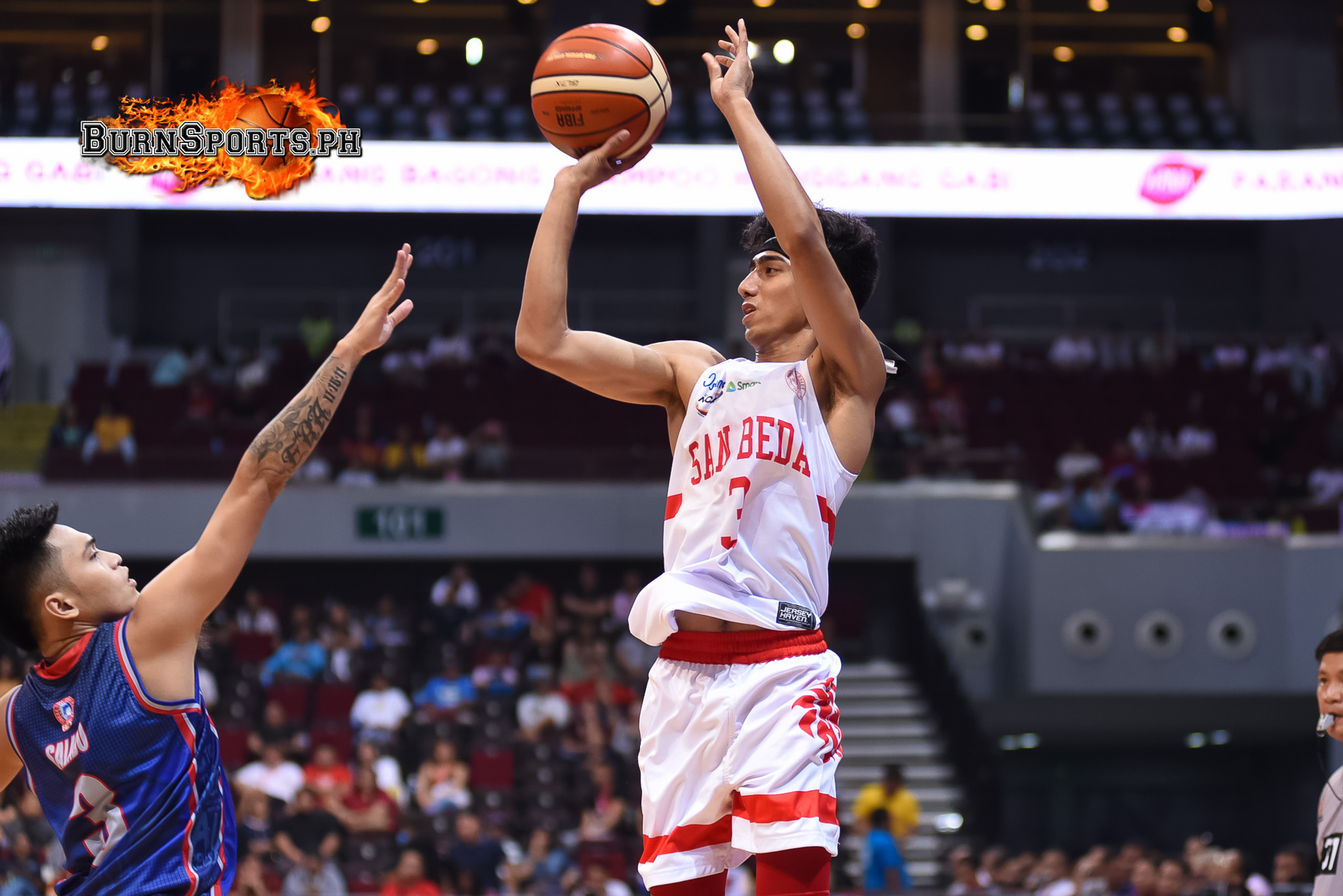 San Beda begins four-peat bid with a win over Arellano