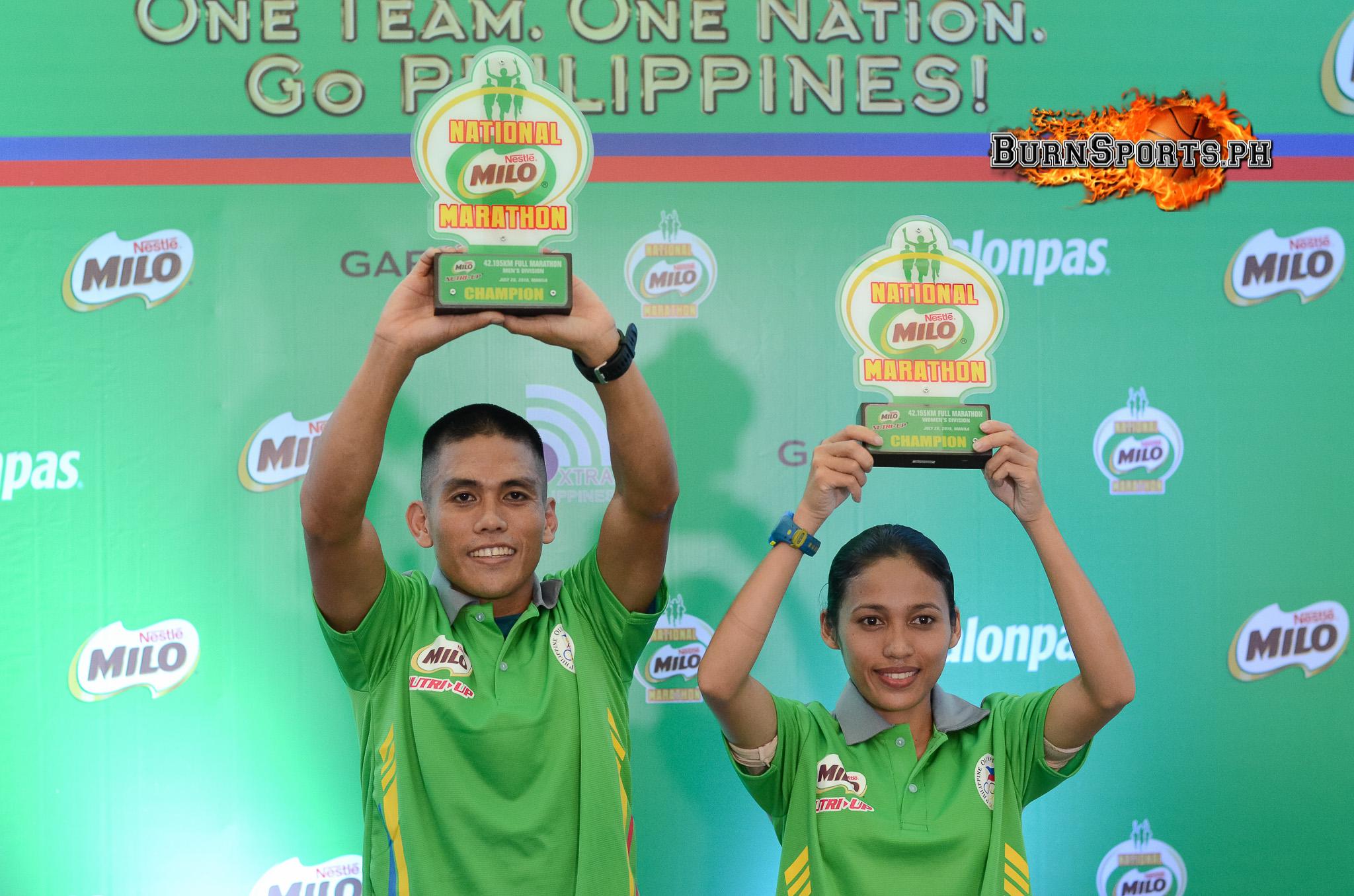 Nerza, Hallasgo reign supreme in Milo Marathon MNL Leg