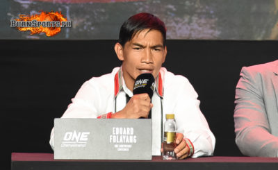 Eduard Folayang out to bounce back at ONE: Dawn of Heroes