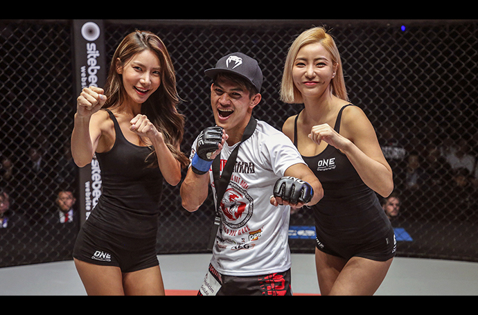 Danny Kingad proud and grateful to be part of Team Lakay