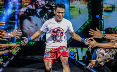 Edward Kelly thrilled to share stage with Team Lakay teammates
